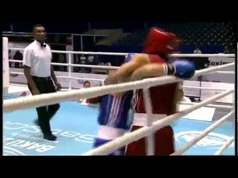 Light Fly (46-49kg) SF - Zou Shiming (CHN) VS Ayrapetyan David (RUS) - 2011 AIBA World Champs