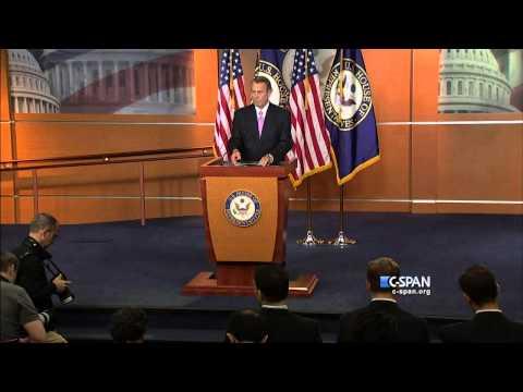 Nancy Pelosi and John Boehner on Amtrak (C-SPAN)