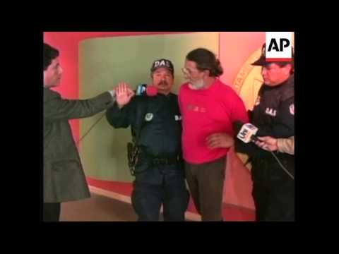 COLOMBIA: BOGOTA: CUBAN CITIZEN ARRETSED FOR POSSESSION OF COCAINE