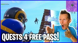 Starting the Quest for a Free Battle Pass
