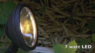Malibu LED Landscape Lighting, 7 watt wash fixture