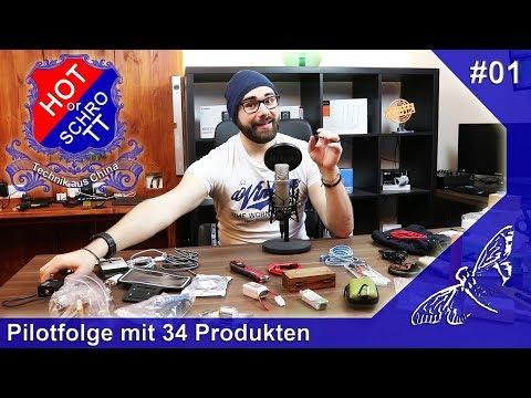 [HOT or SCHROTT] Technik aus China [Pilotfolge mit 34 Produkten] [#1] [HD]