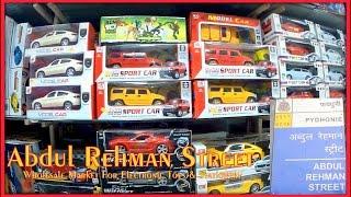 Abdul Rehman Street | Wholesale Market For Electronic Toys & Stationery | Mumbai India