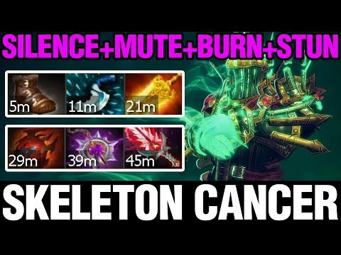 SKELETON CANCER - Babyknight Plays Wraith King - Dota 2
