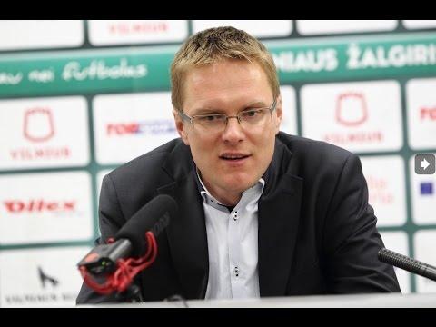 """V.Dambrauskas: """"Mūsų žaidėjai neturi nieko bijoti, """"Žalgiris"""" geriausia komanda Lietuvoje"""""""