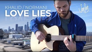 Download Lagu Love Lies - Khalid/Normani - Acoustic Fingerstyle Guitar Cover Gratis STAFABAND