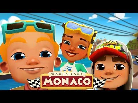 Subway Surfers Monaco (Easter 2017) - YouTube
