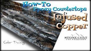DIY Epoxy Infused Copper