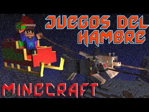 JUEGOS DEL HAMBRE NAVIDEÑO Y TROLL EN MINECRAFT 1.7.2   SERVER PREMIUM   YOSOYYAZZ