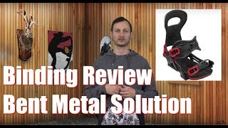 The 2019 Bent Metal Solution Snowboard Binding Review
