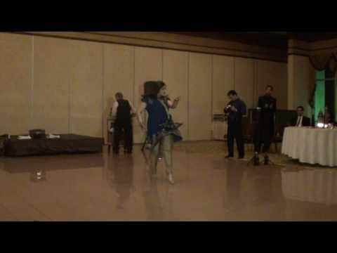 Sarina dancing to Sajna Ve Sajna