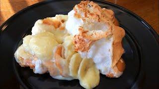Making Homemade Banana Pudding, Meringue that Won't Weep and No Brown Bananas tip!