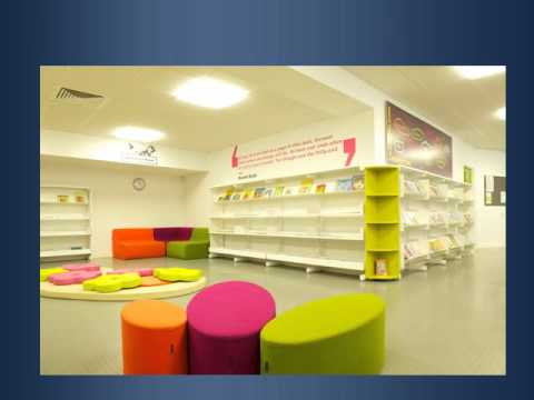 Children 39 s library furniture interior design by for Interior designs by k