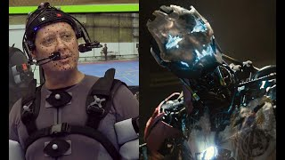 Avengers: Age of Ultron Blu-Ray Feature - James Spader Motion Capture (HD) Marvel Movie 2015