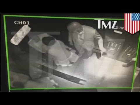 Jay Z attacked by Solange in elevator as sister Beyonce watches (video)