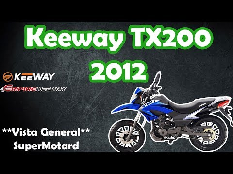 Empire / Keeway TX 200 Super Motard 2012 [HD]