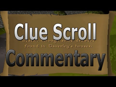 Old School Runescape Clue Scroll With Commentary