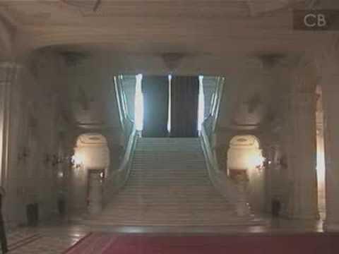 Tour of Ceauşescu's Palace in Bucharest, Romania