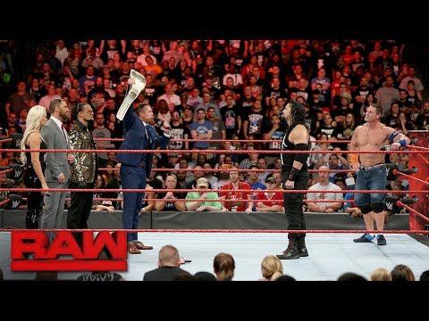 The Miz sounds off on John Cena and Roman Reigns: Raw, Aug. 21, 2017 thumbnail