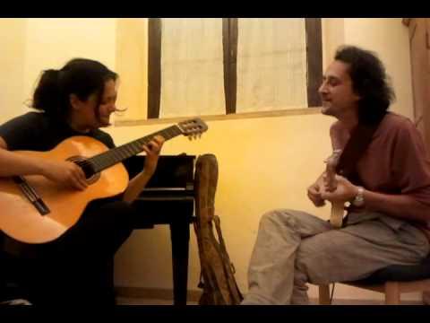 Lezione di chitarra tenuta da Francesco Mazzeo – www.najma.it