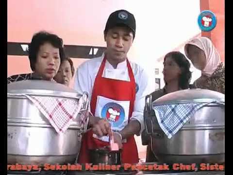 Cara Membuat Kue Ku, Pandan Roll Kukus, & Pie Buah. UKM Jawa Timur.
