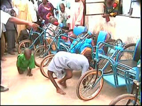 Wheelchairs for Nigeria