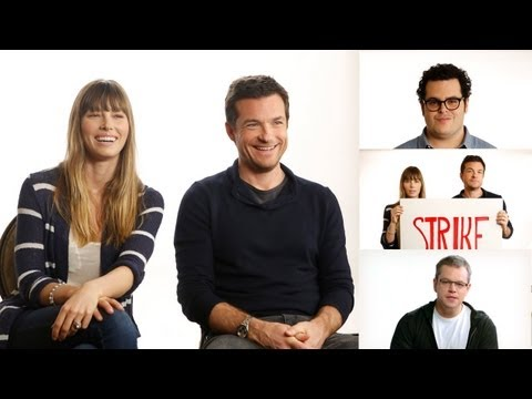 Jason Bateman, Jessica Biel, and Josh Gad Support the Strike!