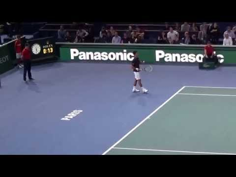 MASTER 1000 PARIS BERCY 2014 - NOVAK DJOKOVIC VS KEI NISHIKORI - SEMI FINAL
