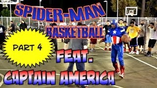 Spiderman Basketball Part 4... feat Captain America