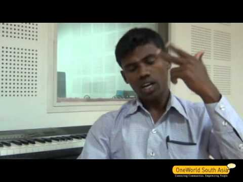 M. Krishnan speaks about Vanoli Moolam Kanithan (Maths on   Radio), Shyamalavani CR, Tamil Nadu