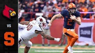 Louisville vs. Syracuse Football Highlights (2018)