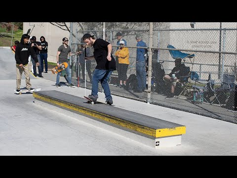 Dan Mancina and the REAL Team skate El Sereno Park