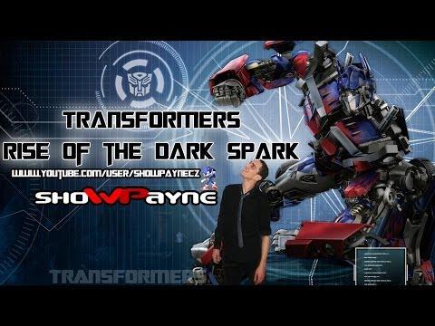 TRANSFORMERS Rise of the Dark Spark (České začátky showpayna) aneb Země v ohrožení!