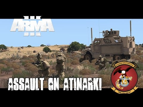 Haymaker 2 - Assault on Atinarki - ArmA 3 Co op Gameplay