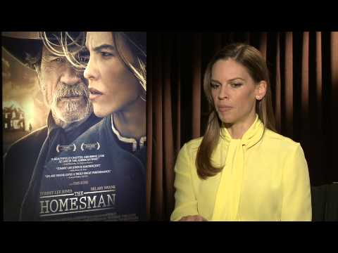 Hilary Swank Stands Up For Women