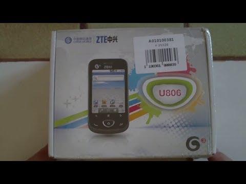 ZTE U806 - Smartphone 3G chinois sans 3G ^^