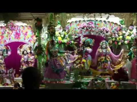Radhastami Celebrations At New Ramanareti Temple, Alachua, Florida video