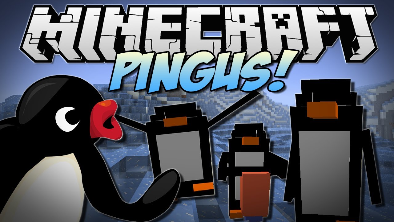 Minecraft Penguin Mod Minecraft | Pingus Penguins