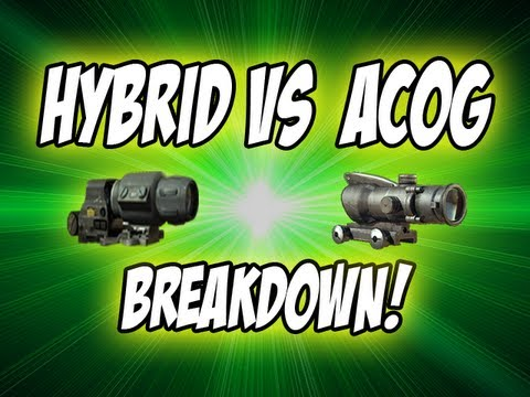 Hybrid Sight Mw3 Mw3 Hybrid Sight vs Acog