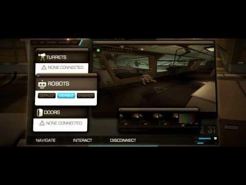 Deux Ex: Human Revolution Adam Jensen HD video game trailer PS3 X360