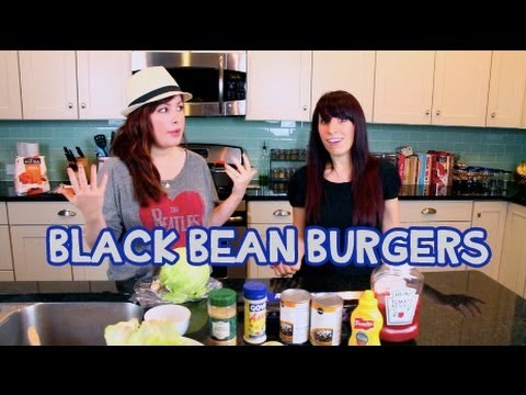 How to Make Quick & Easy Black Bean Burgers