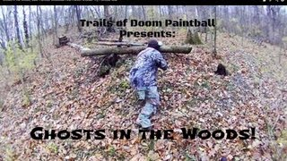 Paintball Assassin Sniper Epic Game in the Woods at Trails of Doom Tippmann A-5