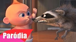 The Incredibles 2 - Jack Jack Vs Raccoon