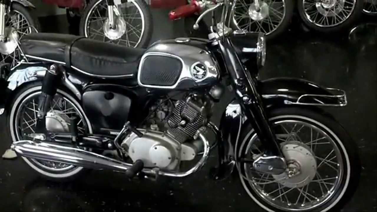 Vintage Honda Motorcycle For Sale