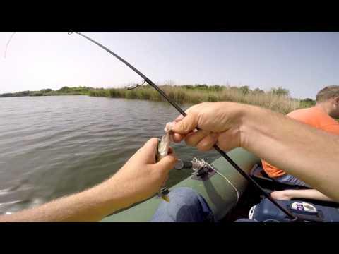 ловля окуня на спиннинг на озере