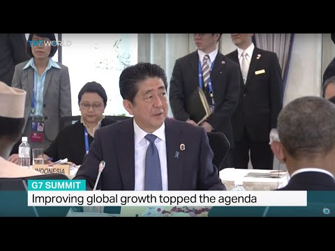 Improving global growth topped the agenda in G7 summit, Mayu Yoshida reports