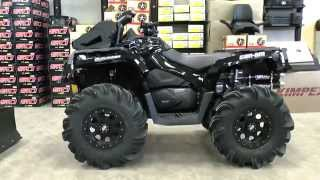 Blacked Out Jacked Up Highlifter Outlander 1000XTP!