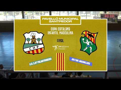 HANDBOL PALAUTORDERA - BM. GRANOLLERS | FINAL COPA CAT INF MASC | 15.06.2019