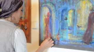 Boutique Katom: bkatom.co.il, Presents Elisheva Shira; Artist/Painter
