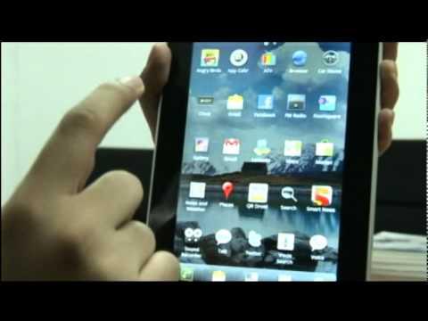 Vdo Review  I-mobile I-note video